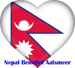 tekst eronder nepal-flag-heart-3d-xs